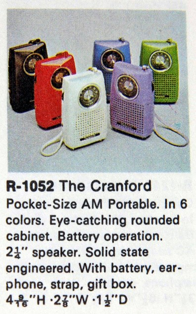 Panasonic Radio R-1052