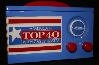 American Top 40 Casey Casem Cookie Jar