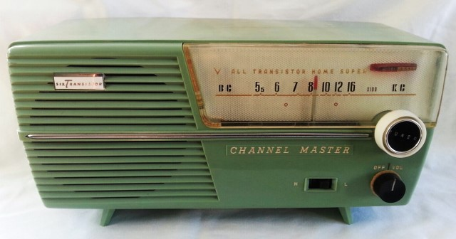 Channel Master Radio Model 6511