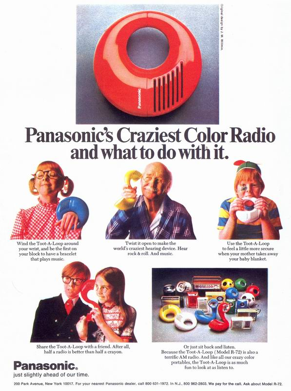 Panasonic Toot a Loop Ad