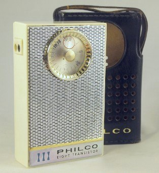 Philco Transistor Radio Model NT-802WHG