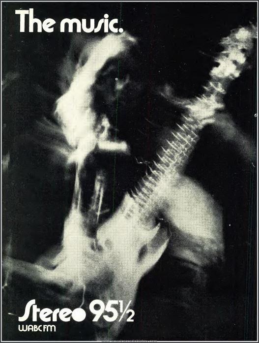 WABC-FM 1970 Ad
