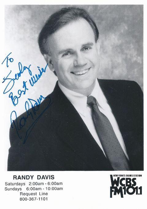 WCBS-FM Randy Davis