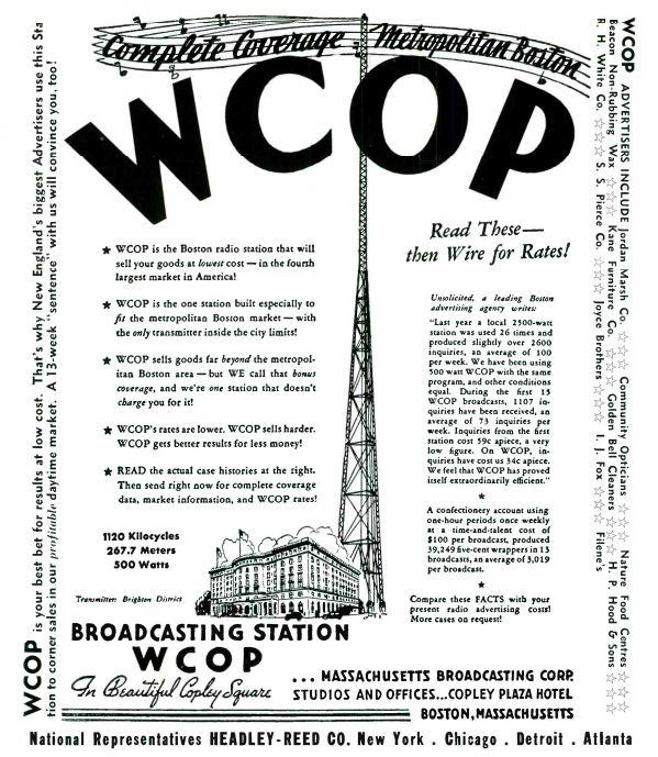 WCOP 1940