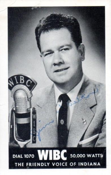 WIBC Jim Shelton 1950s