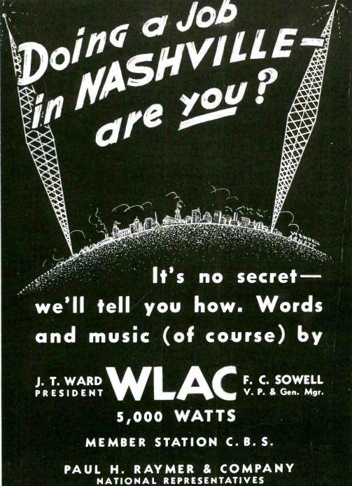 WLAC Nashville 1938