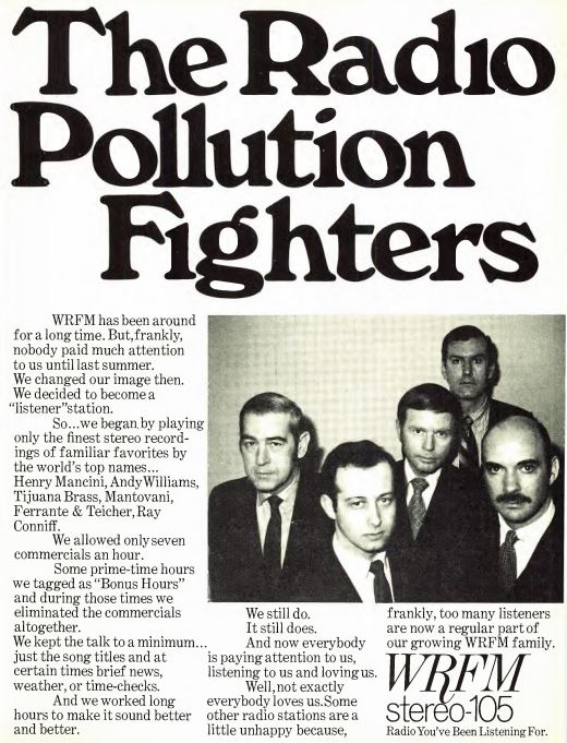 WRFM 1970 Ad