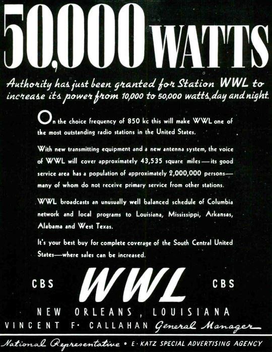 WWL 1938