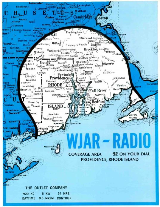 WJAR 920 Coverage Map