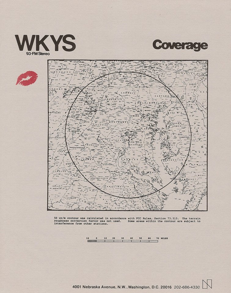 WKYS map