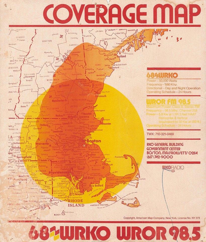 WRKO map