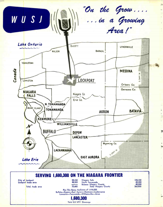 WUSJ 1340 Lockport Coverage Map 1