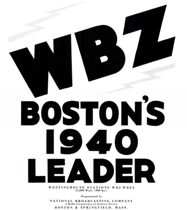 WBZ 1940