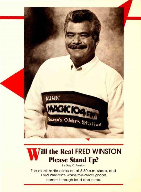 WJMK Fred Winston 1989