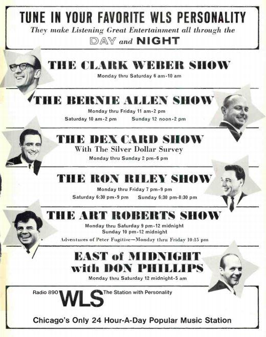 WLS-1967 DJ Lineup