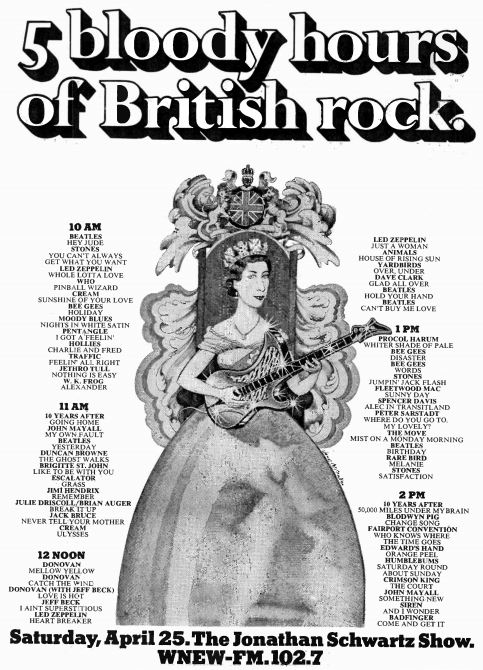 WNEW-FM 1970