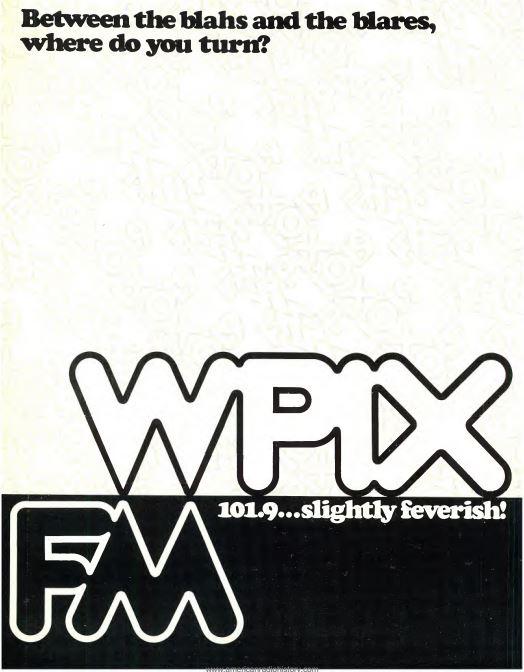 WPIX-FM 1970