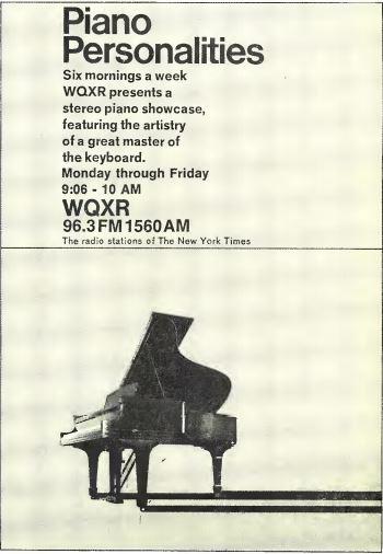 WQXR 1970