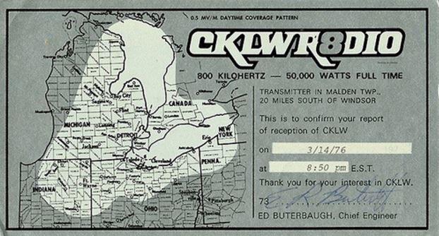 CKLW-QSL