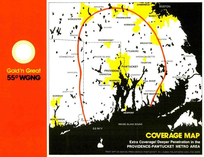 WGNG 550 Coverage Map