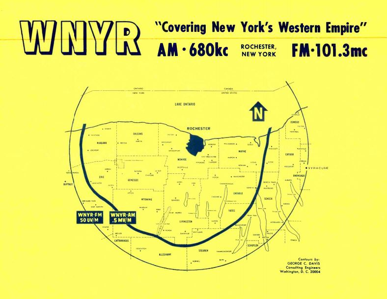 WNYR 680_WEZO 101.3 Coverage Map