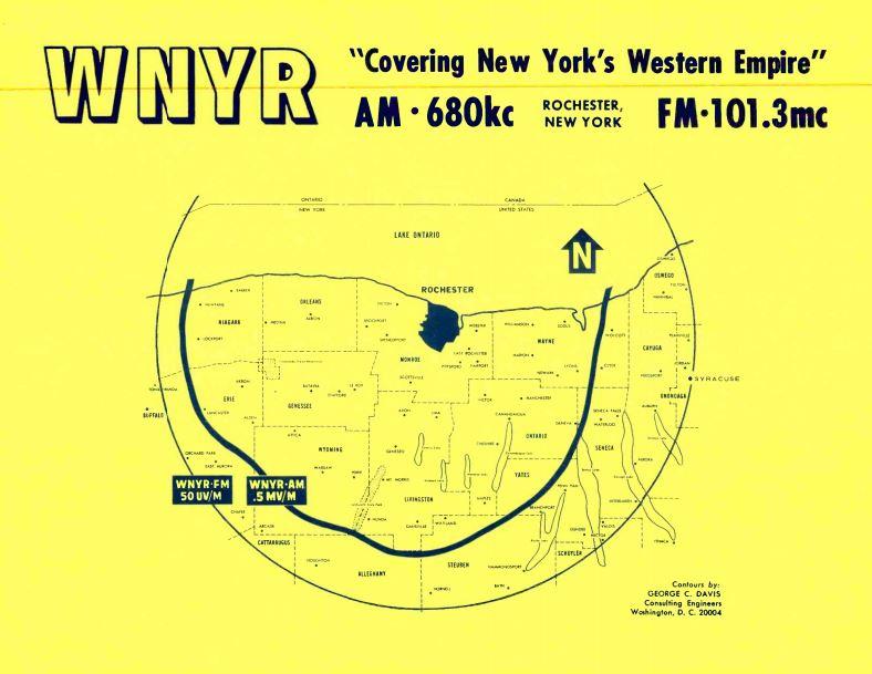 WNYR 680_WEZO 101.3 Coverage Map